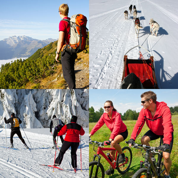 Wandern, Trekking, Radfahren uvm.