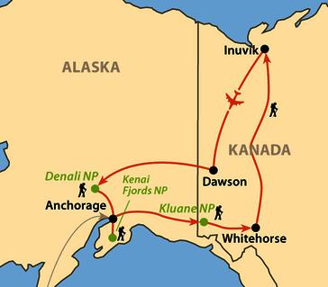 Karte: Alakshak - Das große Land