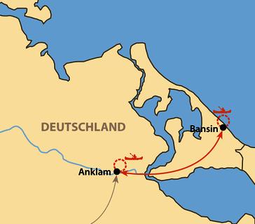 Karte: Paddel-Vorbereitungscamp Kajak /Seekajak