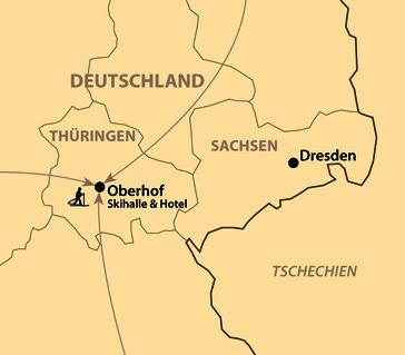 Karte: 10. schulz Ski-Opening in Oberhof mit Schneegarantie