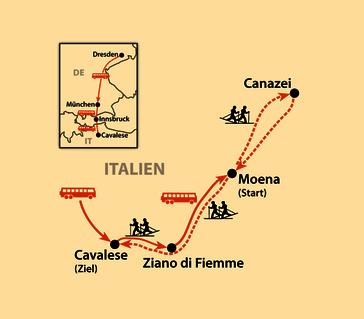 Karte: Marcialonga 2021