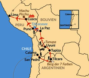 Karte: Großes Anden-Quartett