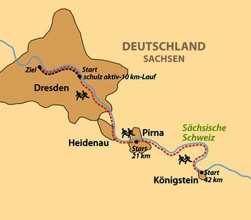 Karte: schulz aktiv-10 km-Lauf