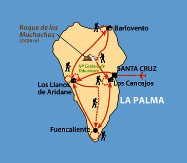 Karte: La Palma –
