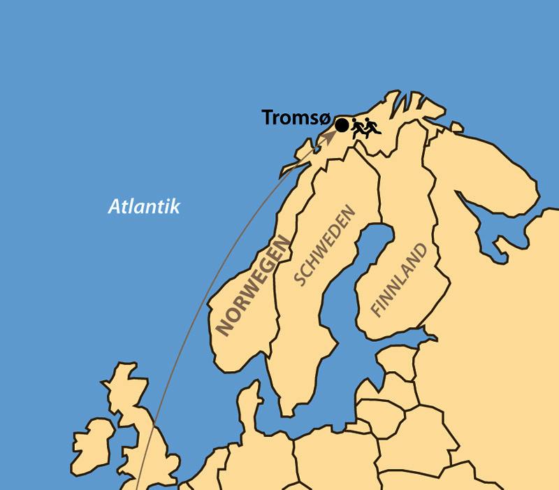 Karte: Polar Night Marathon