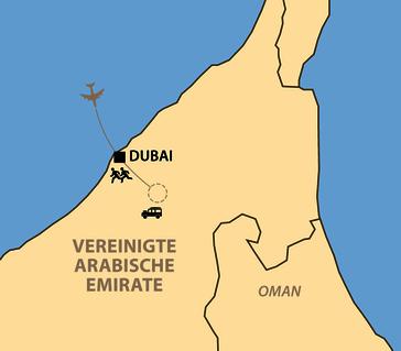 Karte: Dubai Marathon