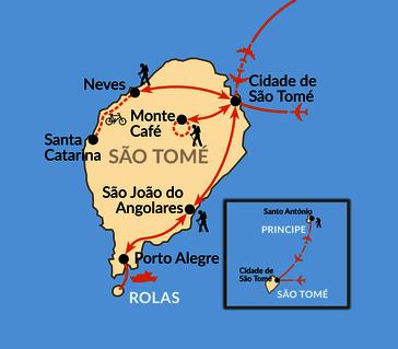 Karte: Das versteckte Paradies am Äquator