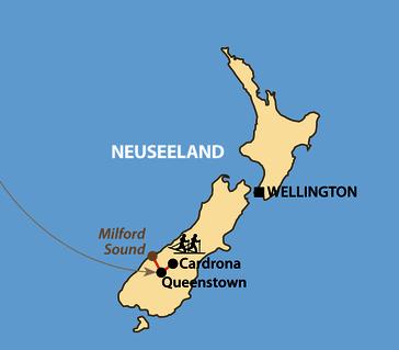Karte: Kangaroo und Merino Skimarathon 2023