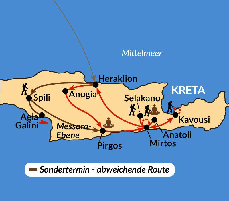 Karte: Kreta slow ...