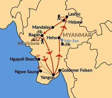 Karte: Der versteckte Schatz Asiens