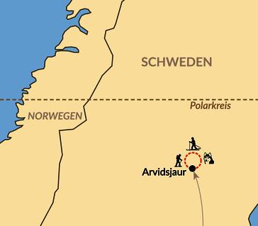 Karte: Lappländisches Winter-Abenteuer