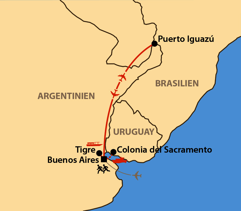 Karte: Buenos Aires Marathon