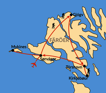 Karte: Nordisches Archipel im Mittsommer