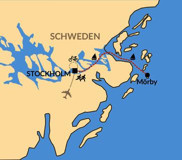Karte: Stockholm Marathon