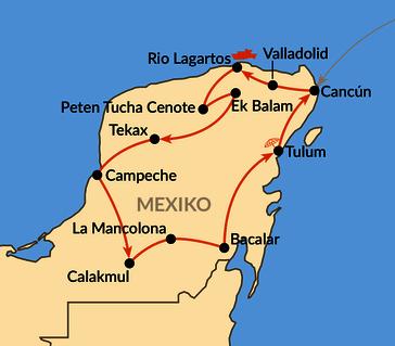 Karte: Mexico auténtico