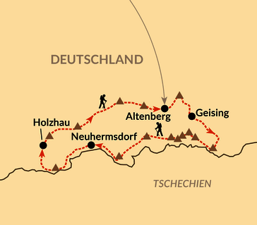 Karte: Trailrunning-Serie: Alle 14