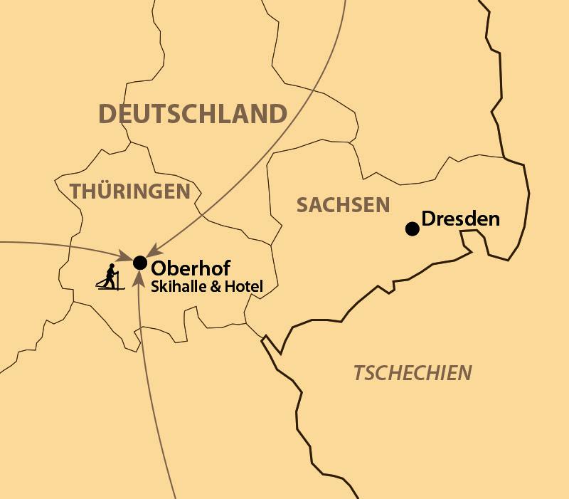 Karte: schulz Lauf-Opening am Rennsteig