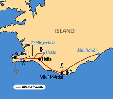 Karte: Tanz auf dem Vulkan