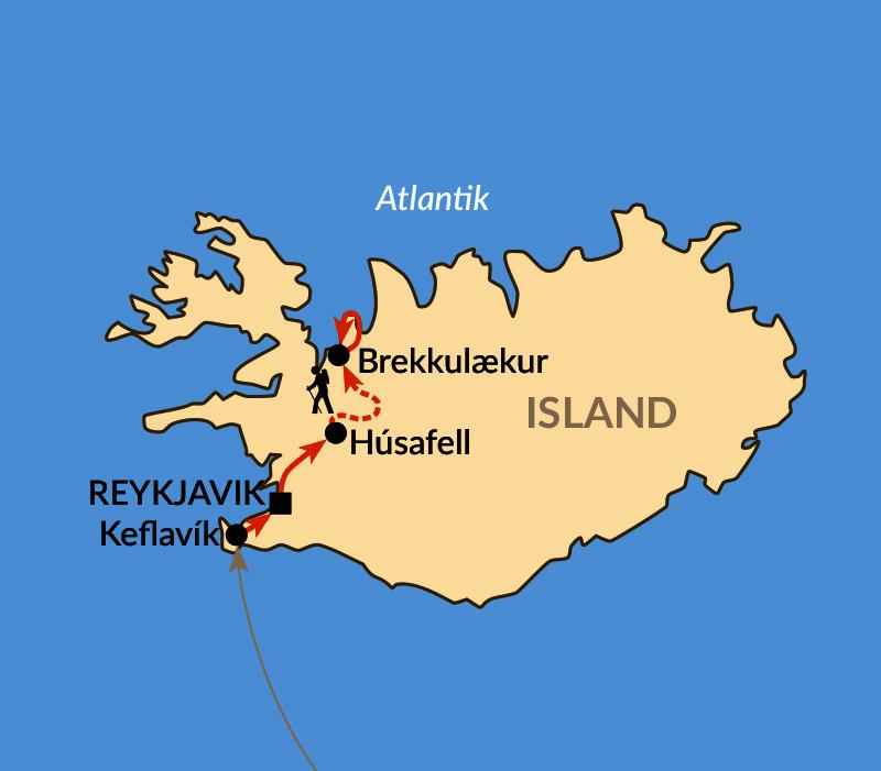 Karte: Lava, Höhlen, Heide