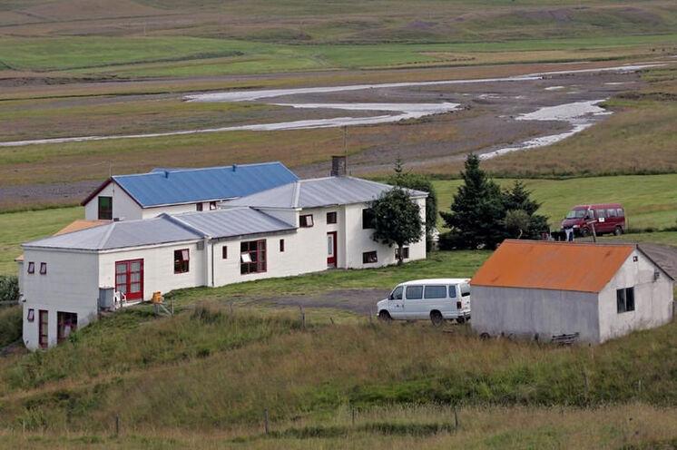 Der Hof Brekkulækur liegt im Norden Islands, nahe dem Städtchen Hvammstangi.