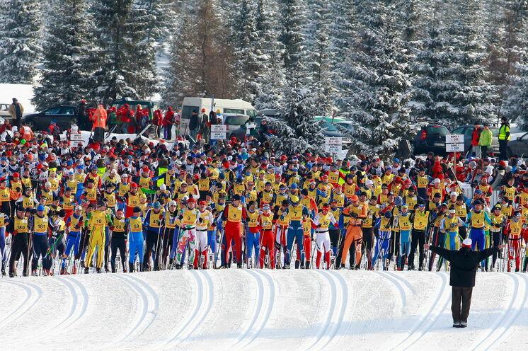 Der klassische Lauf über die 50 Kilometer Distanz (immer Samstags) ist die beliebteste Variante des Piastenlaufes. Am Sonntag kommen die Skater auf Ihre Kosten