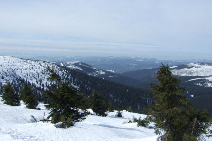 Empfehlung für den Sonntag: Wunderbare Weitblicke vom Kamm des Krkonose (Riesengebirges)