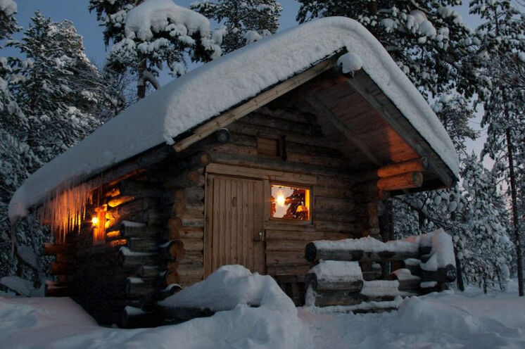 Und abends wartet die Sauna ...