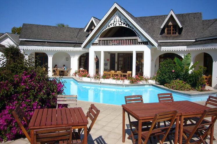Schönes Hotel in Cilaos