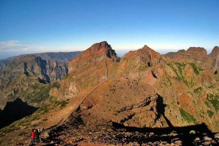 Hochgebirge auf Madeira