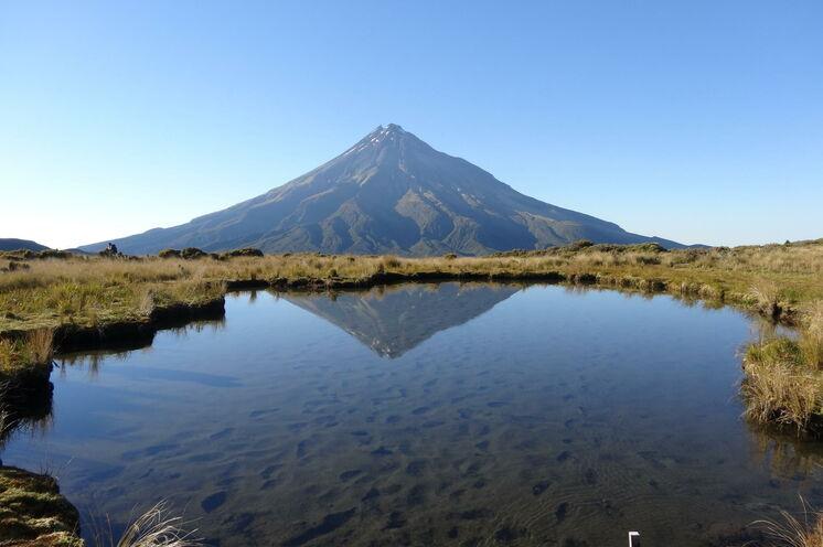 Am Mount Taranaki haben Sie drei Tage Zeit zum Wandern und können optional den Gipfel besteigen.