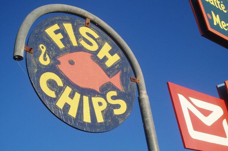 Die legänderen und vorallem frischen Fish'n'Chips sollte man wenigstens einmal probiert haben!