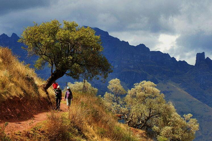 Im Heiligen Tal stehen drei Wandertage auf dem Programm (14.-16. Tag).