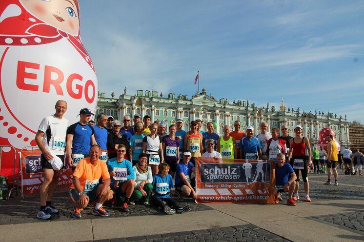 2014: Mit 31 Läufern aus Deutschland und Österreich stellen wir die größte ausländische Gruppe....