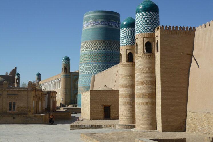 Willkommen in Usbekistan - in der Oasenstadt Chiwa beginnt Ihre Reise.
