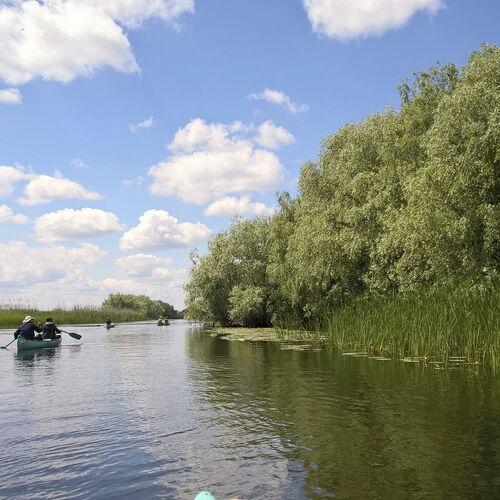 Einzigartiges Donaudelta