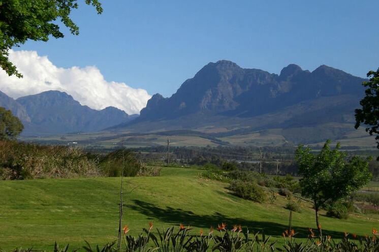 In der Region um Stellenbosch (19. Tag) wird der berühmte südafrikanische Wein angebaut.