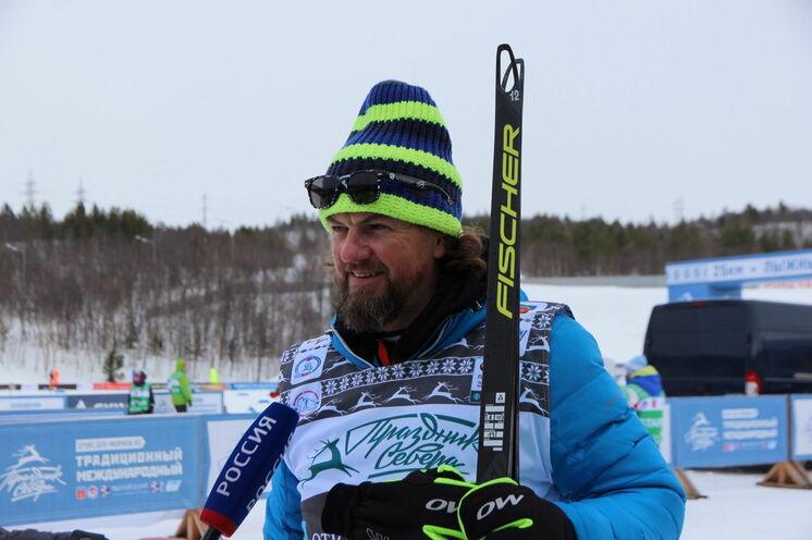 Georgi Kadykov - Engagierter Chef der Russia-Loppet und Initiator des 2017 ins Leben gebrachten 50/25 km-Klassisch-Laufes.