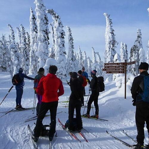 245 km Skitour nördlich des Polarkreises