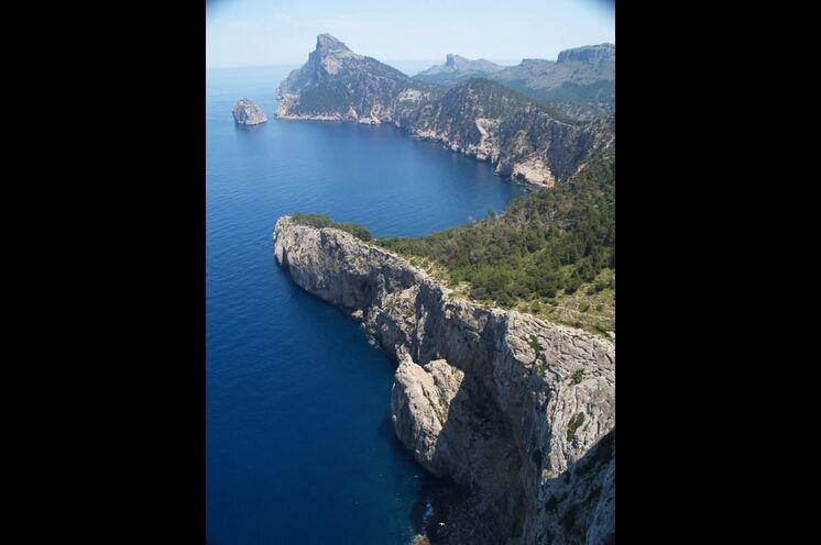 Das Kap Formentor, die nördlichste Spitze der Insel.
