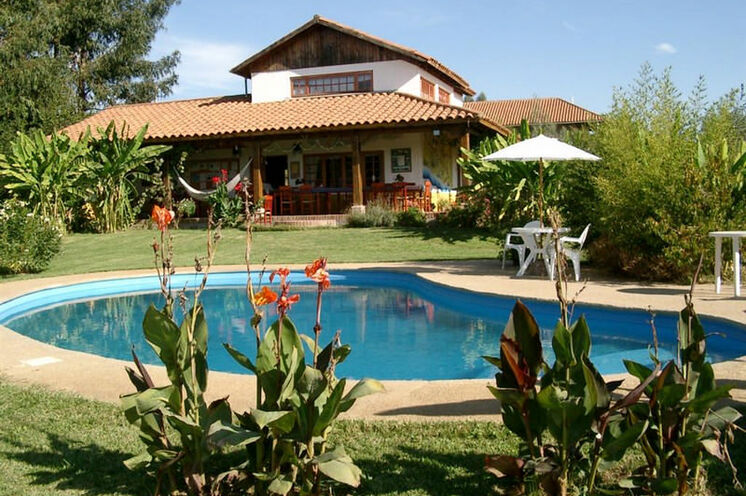 Die idyllischen Lodge in Talca ist Ausgangspunkt der Wanderungen in Zentralchile