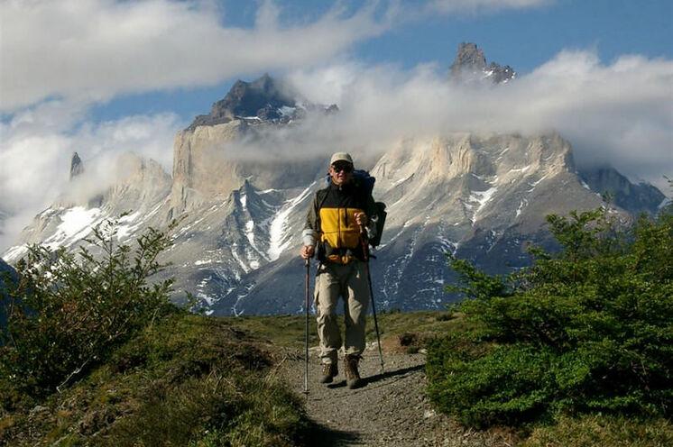 Im Torres del Paine wandern Sie von Hütte zu Hütte (12.-17. Tag)