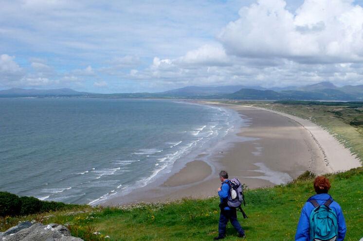 Die walisische Küstenlandschaft ist sehr abwechslungsreich