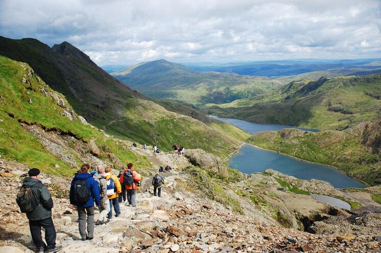 Wandern im Snowdonia Nationalpark