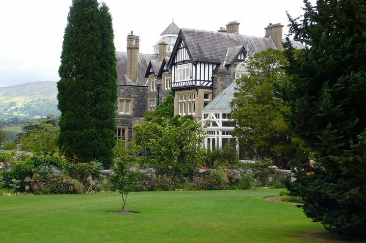 Typisch britisches Herrenhaus