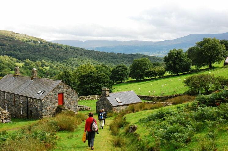 Gemütliche Wanderungen in Wales