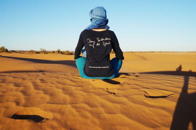 Die weite Wüstenlandschaft lädt zum Träumen ein
