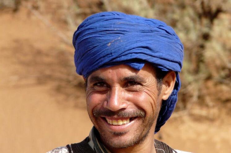 Freundliche Berber sind Ihre Wegbegleiter