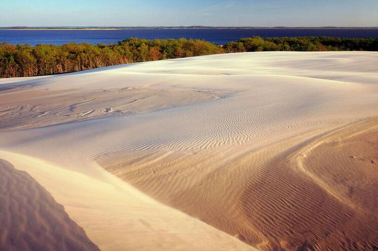 """Eines der Höhepunkte während der Radtour entlang der Ostseeküste: die """"polnische Sahara"""" genannte Wanderdüne bei Łeba (5.-6. Tag)"""