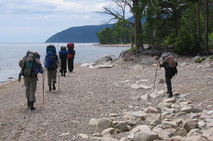 Ein Höhepunkt der Reise: das 5-tagige Trekking in der Wildnis mit Gepäck.