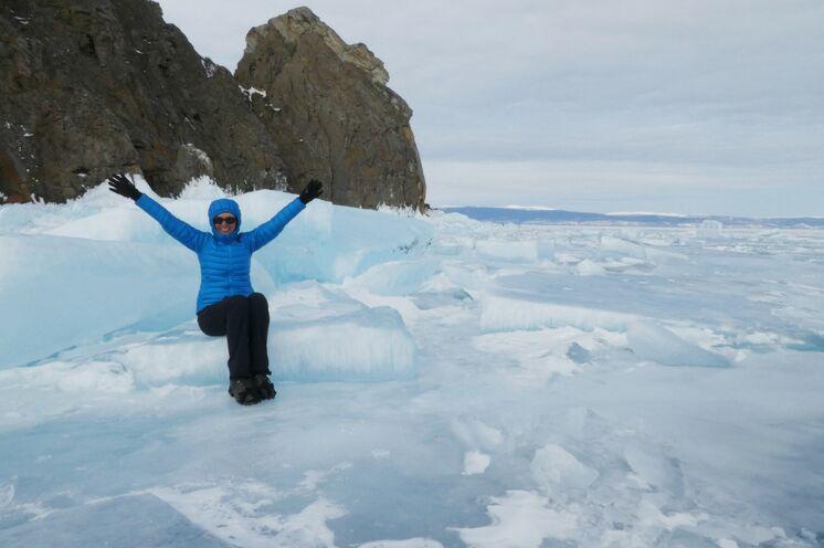 Frische winterliche Luft und Bewegung sorgt für gute Stimmung!